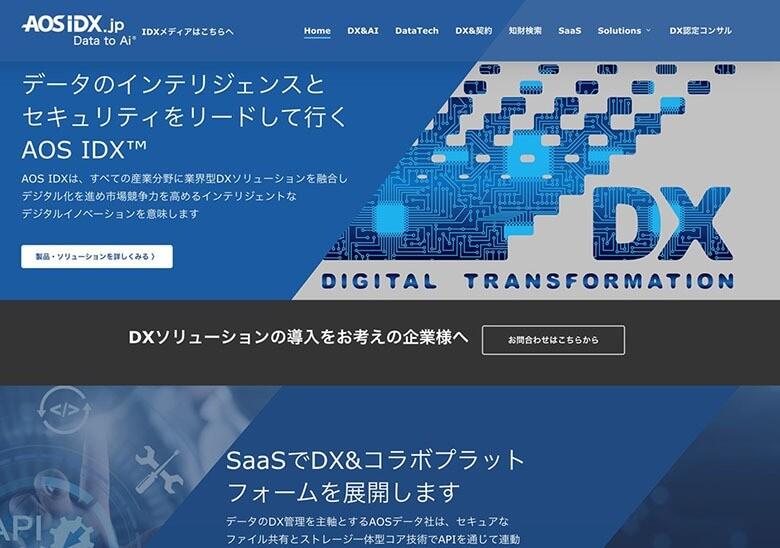 AOSIDX.jp トップページ