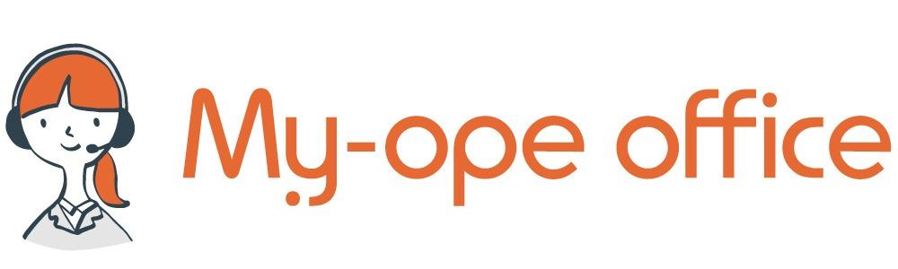 「My-ope office」ロゴ|チャットボットのサービス比較と企業一覧