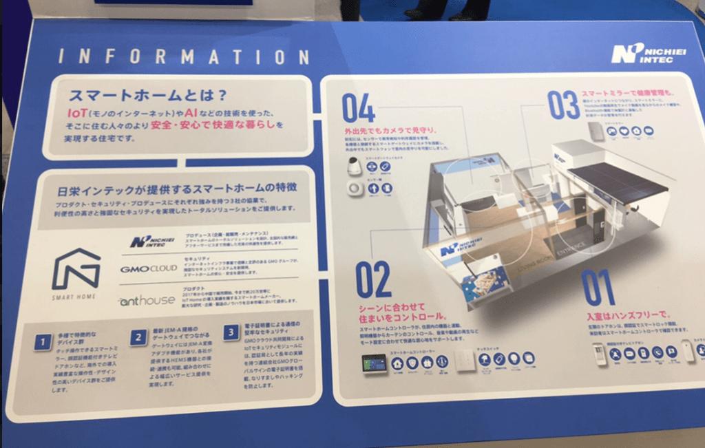 日栄インテックが提供するスマートホーム