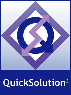 「QuickSolutionチャットボット」ロゴ|チャットボットのサービス比較と企業一覧