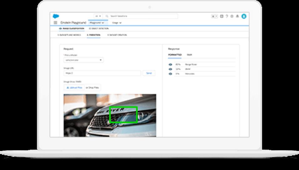 ディープラーニングによる独自の画像認識モデルをアプリに構築できるセールスフォース社のEinstein Vision