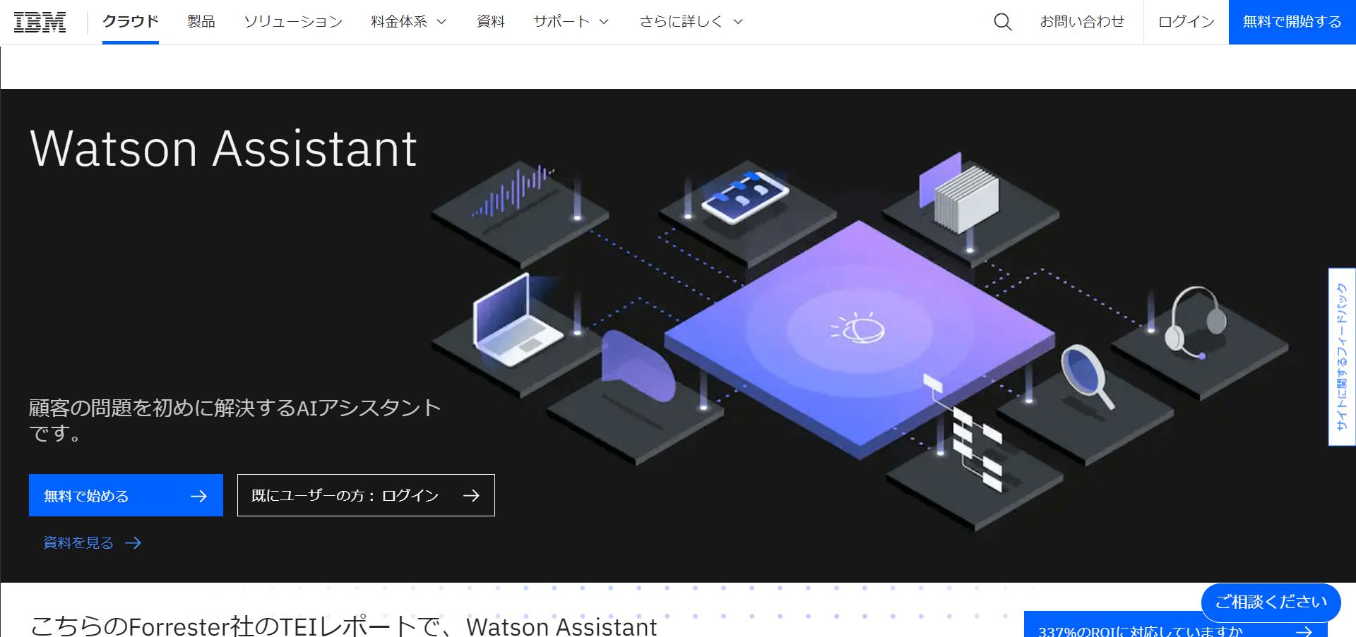 ■Watson Assistantとは?