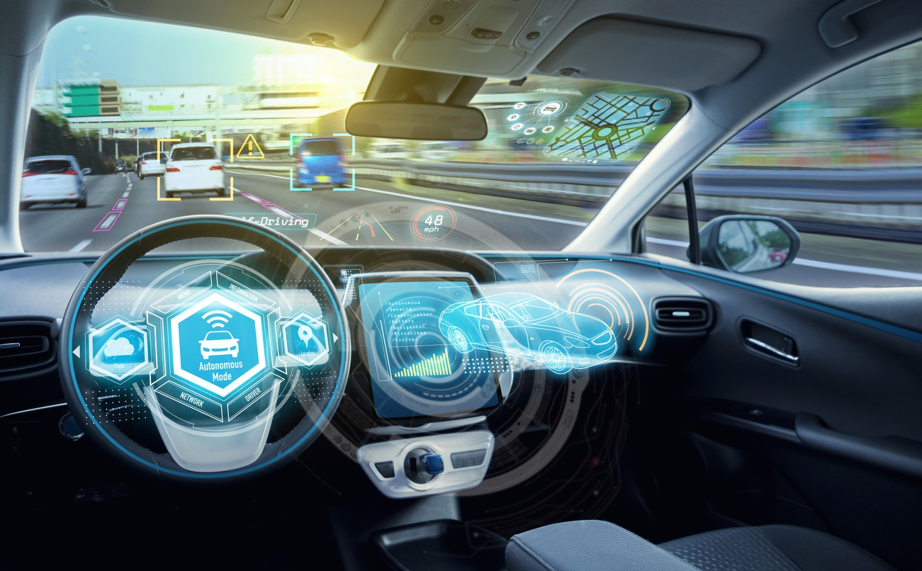 ・AIの利用例1:自動車の自動運転
